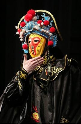 Шоу китайских масок