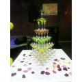 Пирамида из бокалов